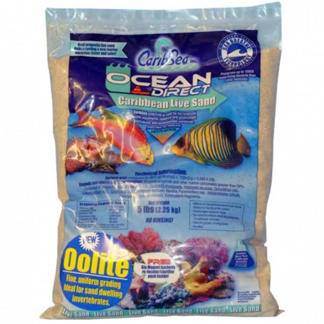 CaribSea Ocean Direct live Sand 18,14 Kg